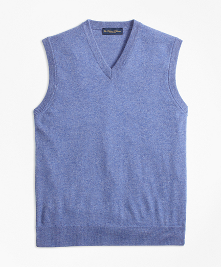 Two-Ply Cashmere Vest