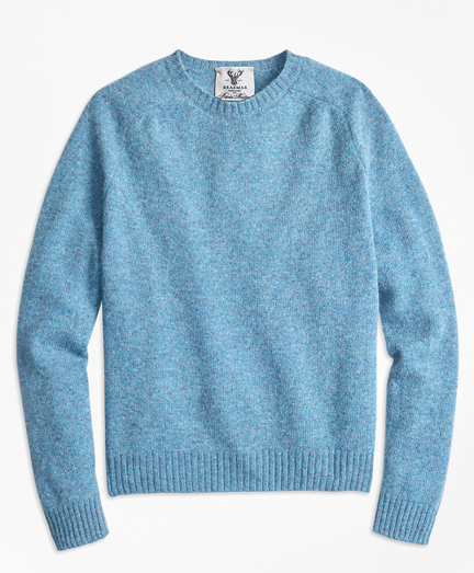 Limited-Edition Braemar™ Shetland Lambswool Crewneck  Sweater