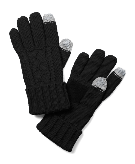 SensorTouch Knit Gloves Black