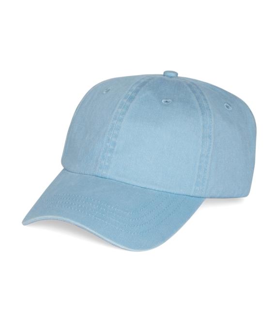 Faded Cotton Baseball Cap Blue