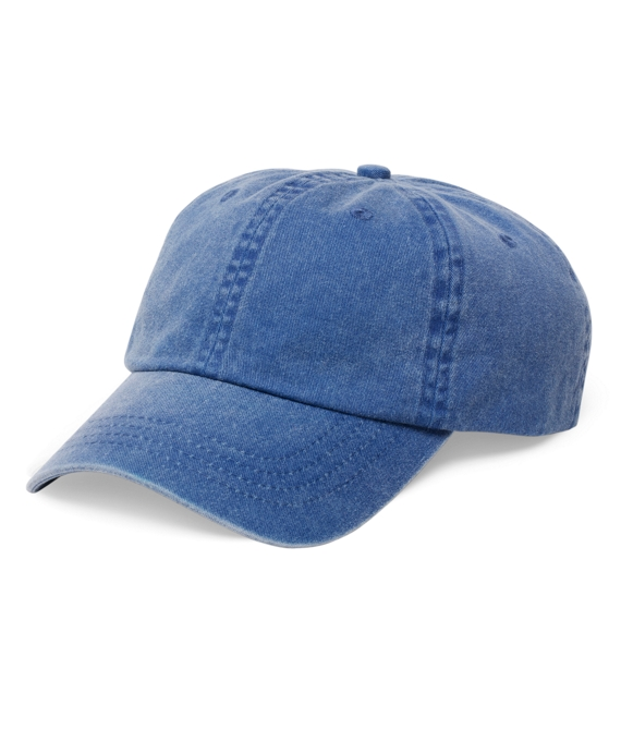 Faded Cotton Baseball Cap Navy