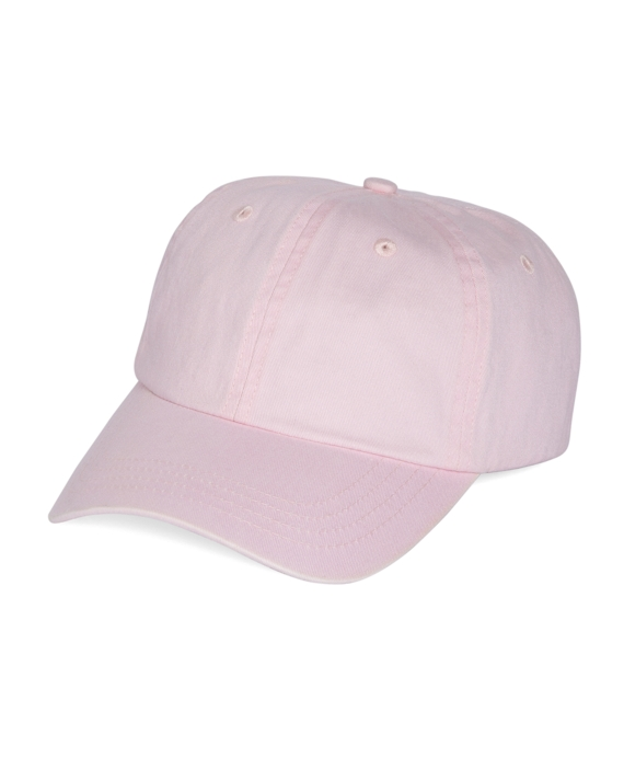 Faded Cotton Baseball Cap Pink
