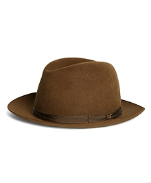 Lock and Co. Voyager Brown Trilby