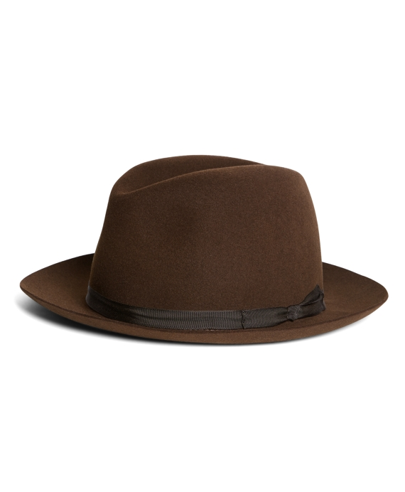 Lock and Co. Voyager Dark Brown Trilby Dark Brown