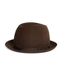 Lock and Co. Sandown Dark Brown Trilby