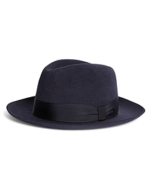 Lock and Co. Prague Navy Fedora