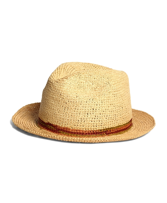 Lock & Co. Trilby Crocheted Panama Hat Natural