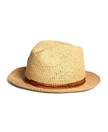 Lock & Co. Trilby Crocheted Panama Hat