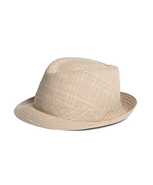 Lock & Co. Grey Check Sterling Trilby