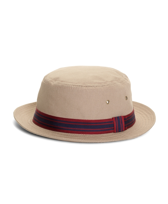 Poplin Bucket Hat Tan