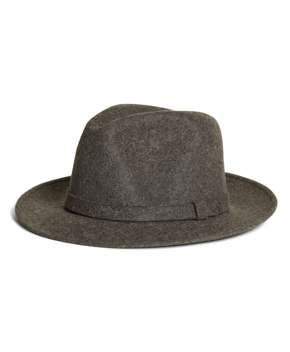 Wool Fedora Grey