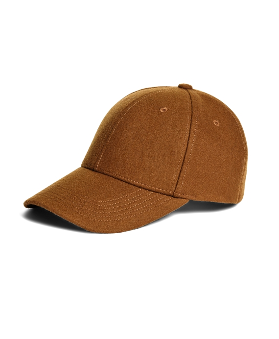 Wool Baseball Hat Tan