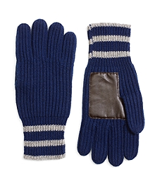 Tipped Cashmere Gloves