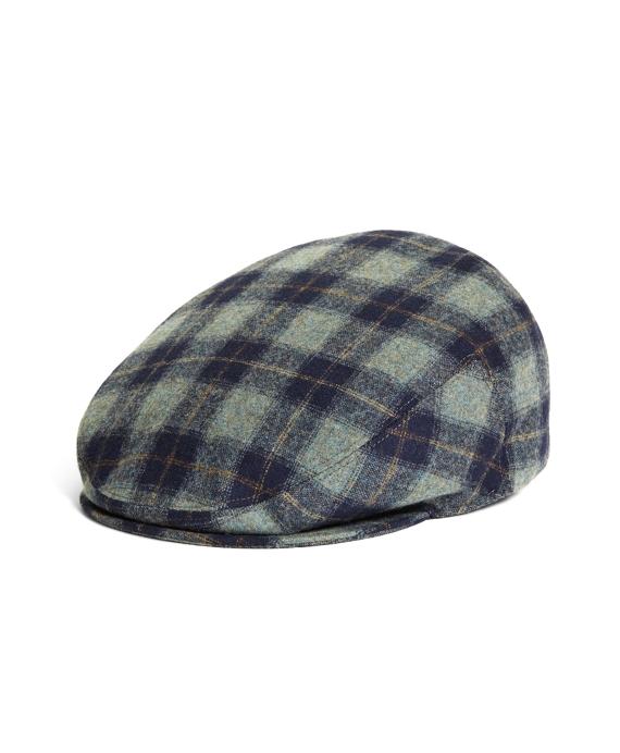 499610d6e19 Men s Red Fleece Blue Plaid Pendleton Ivy Cap
