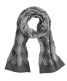 Wool Diamond Scarf
