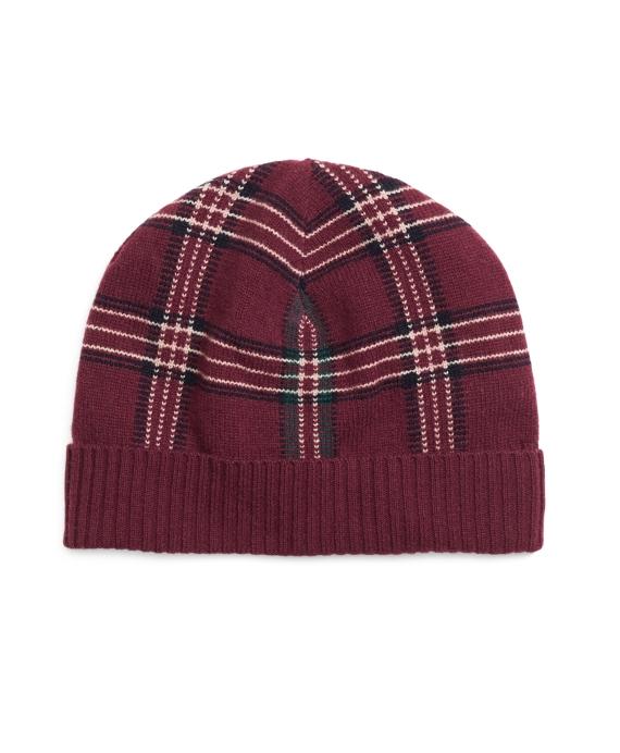 Signature Tartan Hat Red