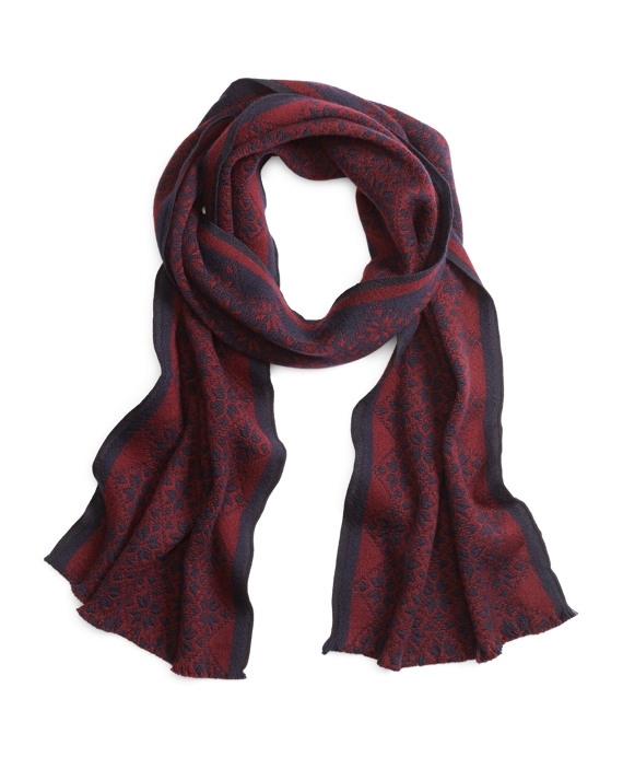 Men's Fair Isle Wool Scarf | Brooks Brothers