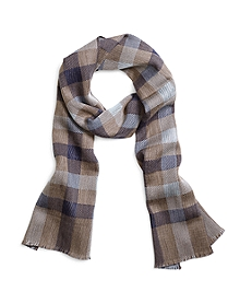 Plaid and Stripe Scarf