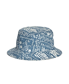 Tropical Print Bucket Hat