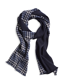 Gingham Plaid Scarf