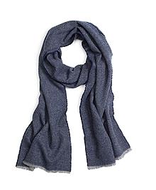 Plain Weave Wool Scarf