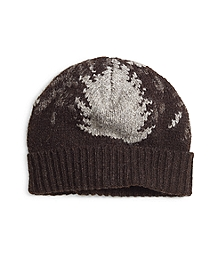 Mountain Motif Hat