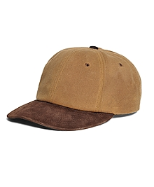 Waxed Canvas Baseball Hat