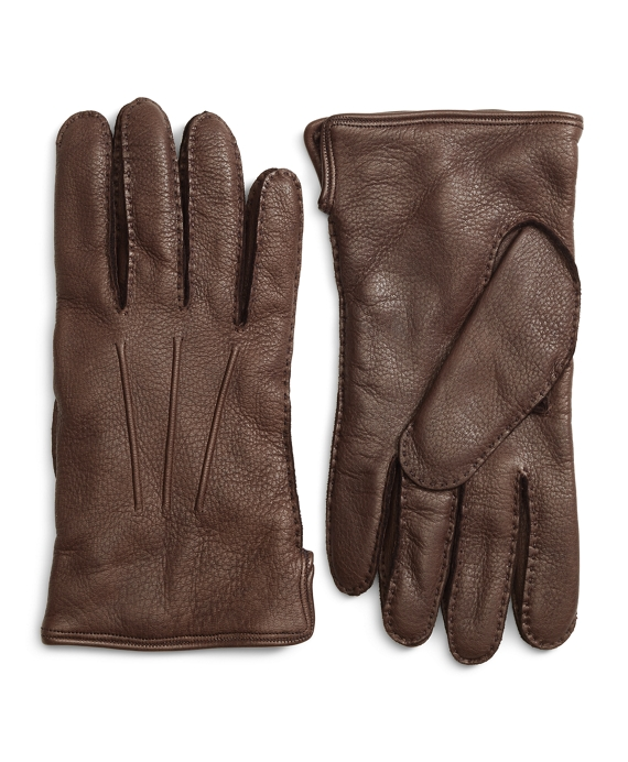 Deerskin Cashmere Lined Gloves