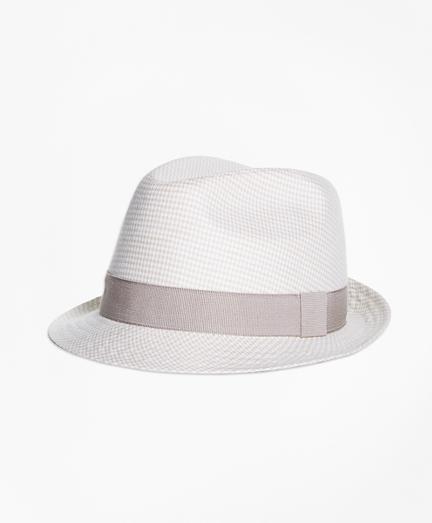 Linen Block Hat