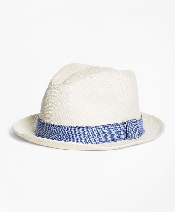 Straw Block Hat