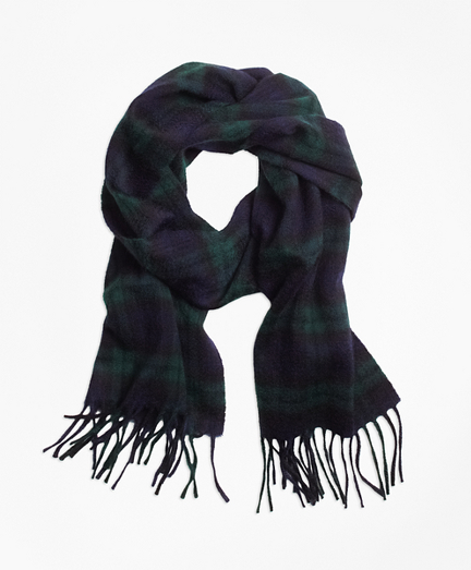Cashmere Black Watch Scarf
