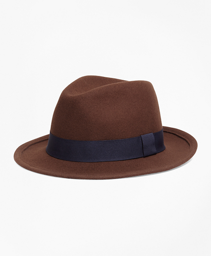 Wool Blocked hat