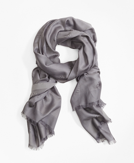 Golden Fleece® Jacquard Scarf