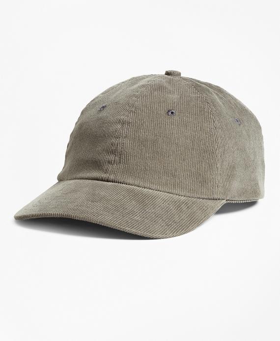 Corduroy Baseball Hat Grey