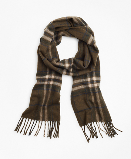 Wool Tartan Scarf