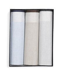 Cotton Handkerchiefs - 3pk
