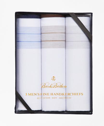 Cotton Handkerchiefs - 3pk