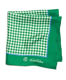 Gingham Pocket Square