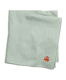 Micro Check Pocket Square
