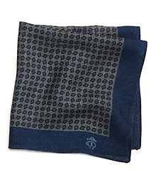 Diamond Pocket Square