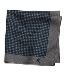 Mini Check Pocket Square