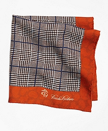 Plaid and Paisley Pocket Square