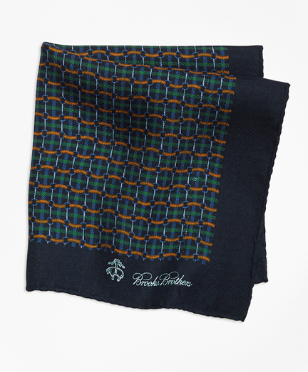 Plaid Links and Duck Pocket Square