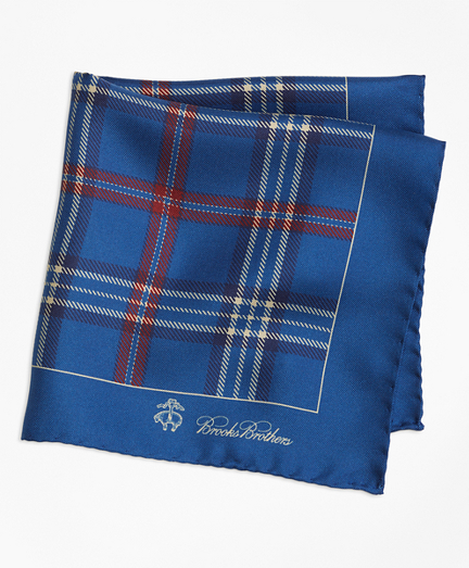 Signature Tartan Pocket Square