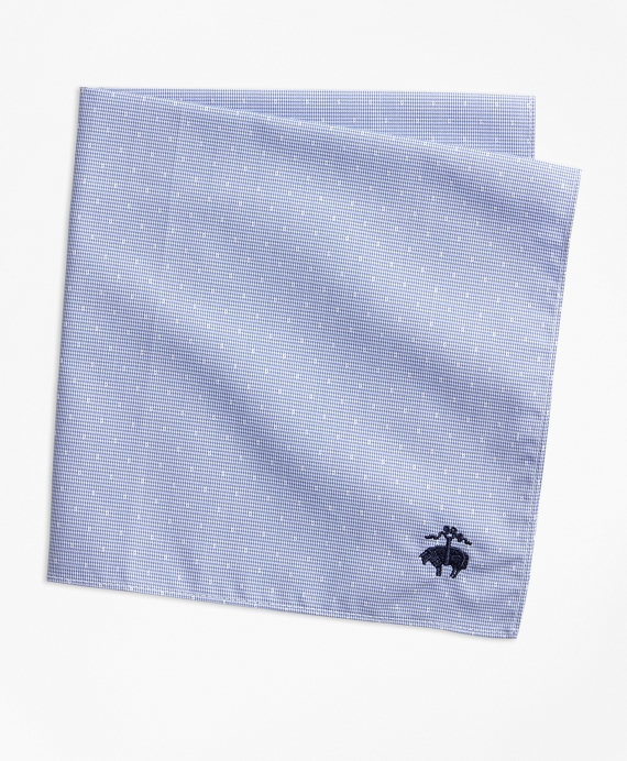 End-on-End Dot Pocket Square