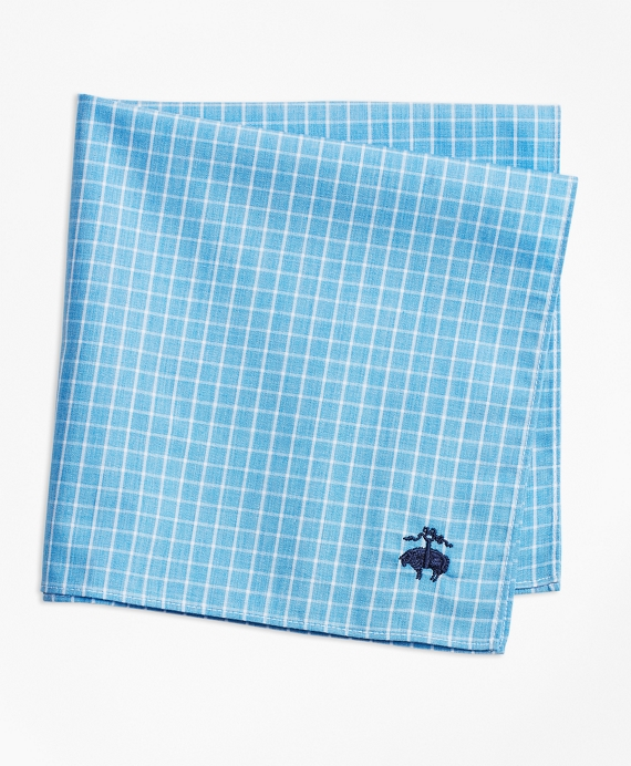 Windowpane Pocket Square