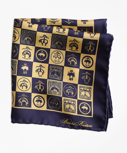 Limited-Edition 200th Anniversary Silk Pocket Square