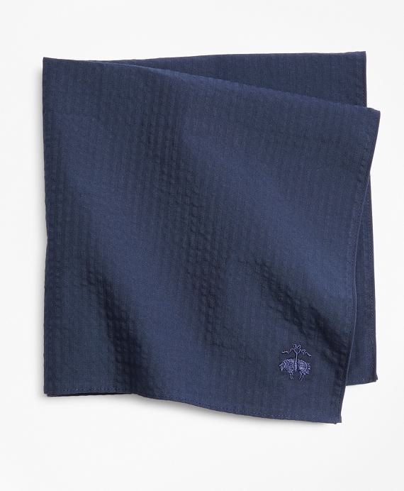 Seersucker Pocket Square