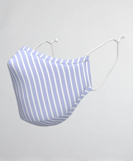 Striped Reusable Face Mask