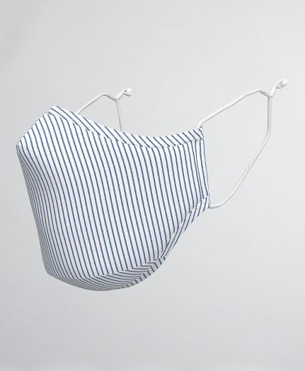 Pencil Stripe Reusable Face Mask